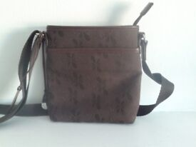 Small Chocolate Brown women's cross body or shoulder bag