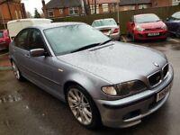 BMW 320I 2.2 M SPORT MANUAL SALOON 54 PLATE GREY MOT FANTASTIC CAR