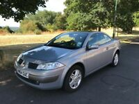 RENAULT MEGANE ELECTRIC HARD TOP CONVERTIBLE WITH LEATHER