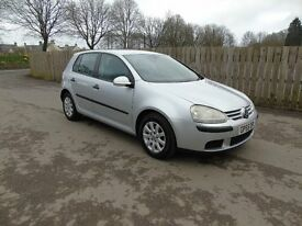 VW Golf 1.6 Match FSI 5DR Low Mileage Full Service History Cheap Car