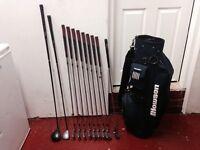 Golf clubs - Driver - Fairway Wood - full set of matchinh Irons - Putter - Golf Bag -Glove-balls etc
