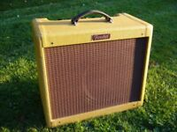 Fender Blues Junior Special Tweed Edition Guitar Amplifier - with cover