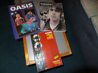 OASIS COMPLETE GUITAR CHORD SONGBOOK - 6 ALBUMS OF SONGS + 2 X PHOTO'S BOOKS