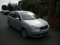 VOLKSWAGEN POLO 1.4 (80) MATCH AUTOMATIC 08 REG NEW SHAPE 1 OWNER FULL SERVICE HISTORY