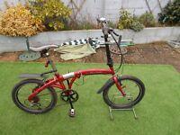folding commutor bike