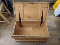 Wooden Chest / Blanket Box / Trunk