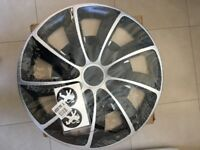"Boot liner, dog guard, 15"" new wheel trims,"