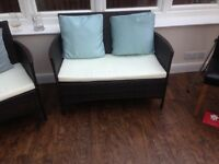 Amazing furniture for conservetry or summer room new and in excellent condition!