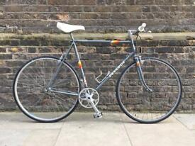 "Vintage PEUGEOT HLE PREMIERE Racing Road Bike - Restored 23.5"" Frame - Single Speed - Retro Classic"
