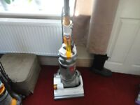 white and silver hoover in good working order can see it working be for you buy it