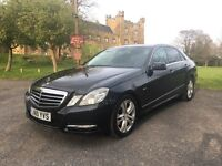 ** 2010 MERCEDES E 220 CDI AVENTGARDE blueEFFICIENCY FULL MB SERVICE HISTORY STUNNING EXAMPLE ! **