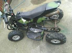 Mini moto quad runs needs tlc