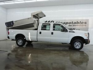 2011 Ford F-250 XL 4X4 BOÎTE DOMPEUSE 8'