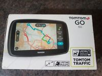 TOMTOM Go 60 6inch navigation, Free Lifetime maps and live traffic update