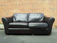 2/3 leather sofa