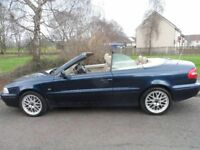 VOLVO C70 GT CONVERTIBLE 02 PLATE 2002 MOT APRIL 2019