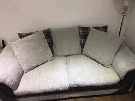 3 seater and swivel cuddle chair