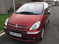 Citroen xsara Picasso 1.6 desire 2005 facelift model 5 door mpv people carrier mot may new clutch