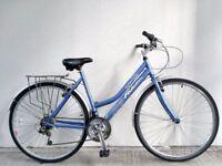 "(2703) 700c 20"" Aluminium FALCON HYBRID COMMUTER CITY TOWN BIKE BICYCLE Height: 170-185cm"