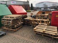 Wooden Pallets (Free to Collector) - Good for use, firewood or craft projects.