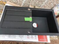 Franke Tectonite SUD Onyx (black) kitchen sink