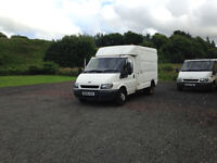 Ford Transit BT Box Van 06 79000 Miles 1 Year MOT With Extras