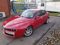 2006 (56) Alfa Romeo 159 Lusso 2.2 FSH Just been serviced, Recent Clutch and Cambelt Change