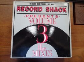 "Record Shack Volume 3 The Mixes 12"" Vinyl 1986"