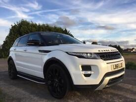 2012 Range Rover Evoque dynamic fully loaded with all the extras