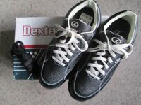 DEXTER TURBO TENPIN BOWLING SHOES FOR MEN/YOUTHS SIZE 7 1/2 UK EXCELLENT COND WORN ONLY 3 TIMES