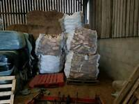 Silver birch logs for sale cubic meter