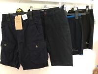 4 Pairs Boys Shorts 7-8yrs