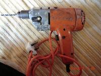 Vintage black and decker drill