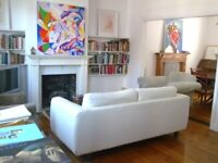 Double room in spacious duplex flat share with garden. £543 per month All bills included
