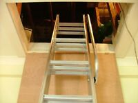 ACCESS SOLUTIONS, LOFT LADDER FITTER. MAINTENANCE AND REPAIR.
