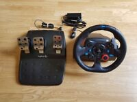 Logitech G29 Racing Wheel for PS3 / PS4 / PC