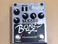 Radial Texas Bones Dual Overdrive Pedal