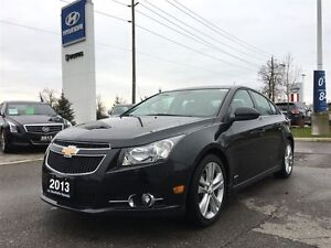 2013 Chevrolet Cruze LT RS  NAVIGATION, LEATHER, SUNROOF