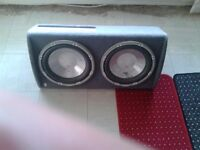 fli twin sub and amp