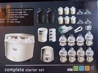 Tommee tippee steriliser, food warmers and bottles