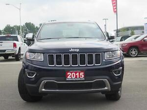 2015 Jeep Grand Cherokee Limited! 4x4! Touch Screen! London Ontario image 2