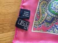 Silk Ralph Lauren scarf
