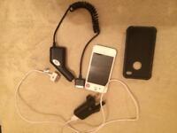 i phone 4s vodafone white