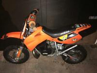 Ktm 50cc (yz rm kx Mx cr pit bike child kids moto cross lem 50 49)
