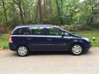 2006 Vauxhall Zafira 1,6 litre 5dr 7 seater
