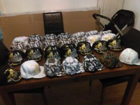 Bargain! 30 skaters brand new hats for 50£ (job lot) !