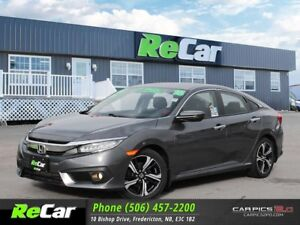 2016 Honda Civic Touring LEATHER | SUNROOF | NAV