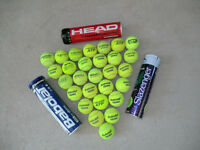 Used tennis balls, ex competition, pack of 30, various major brands