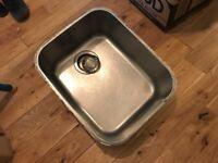 Franke undermounted sink. Used