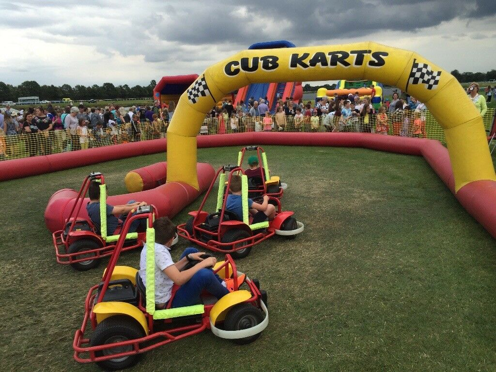 Children's go kart business for sale.